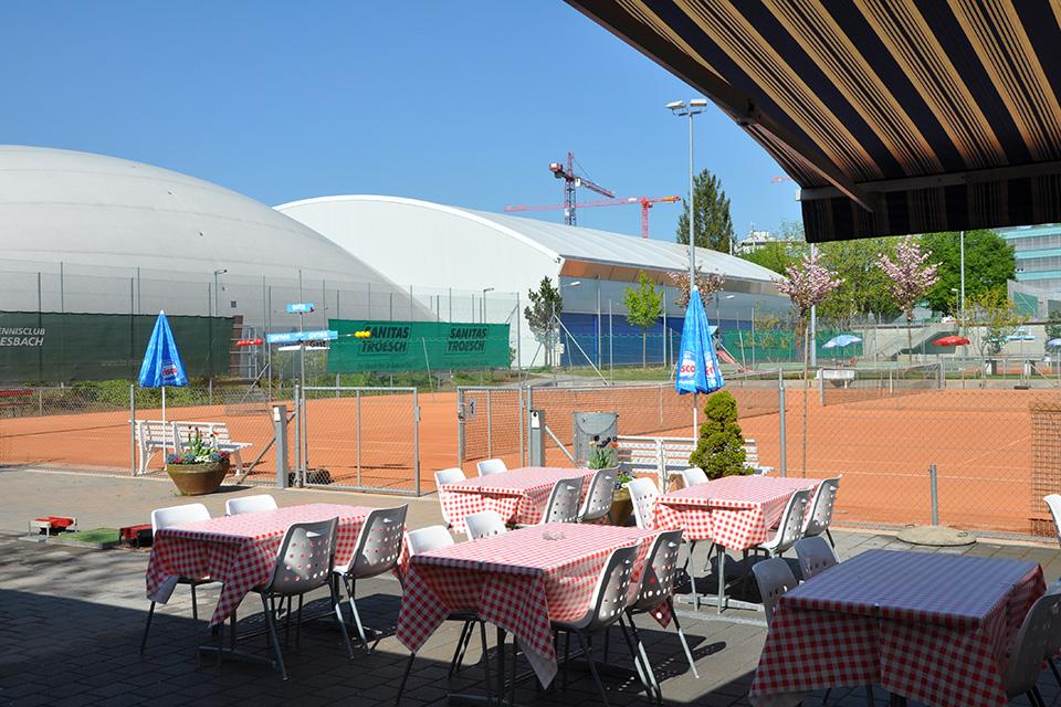 Tennisanlage Lengg ‒ Jahrein, jahraus